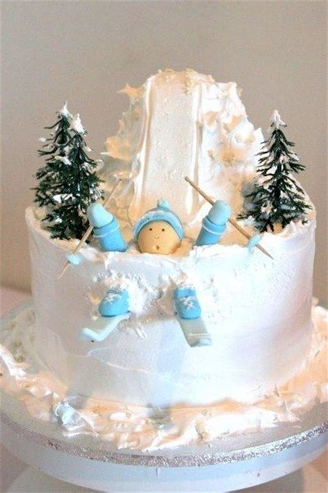 Winter Cupcakes Decorating Ideas by Best 25 Winter Cakes Ideas On Cakes