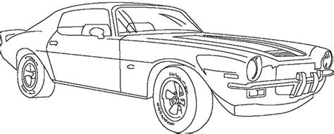 Free Printable Automobile Coloring Pages