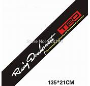 Car Styling TRD Front Windshield Sticker And Decals