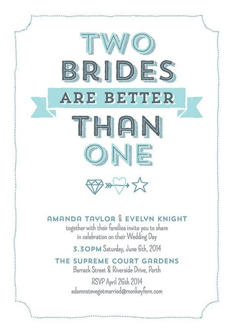 Two Boyfriends Are Better Than One by Two Brides Are Better Than One Digital Personalized Print