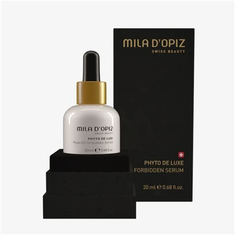 phyto de luxe ds forbidden serum professional skincare from mila d opiz