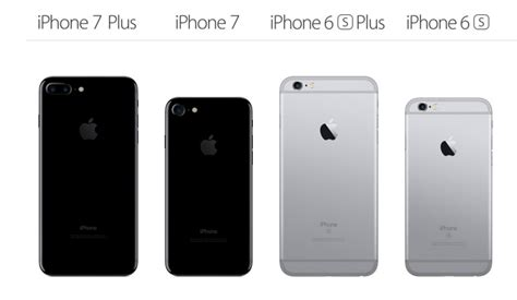 apple iphone 7 plus vs iphone 6s what s the difference