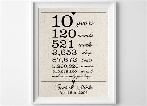 10 year anniversary ideas for him 10 awesome 10th anniversary ideas for him