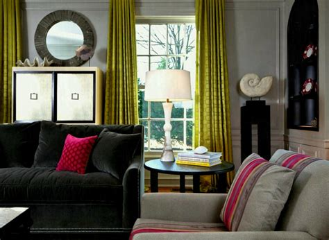 what colours go with a black sofa what color curtains go with gray sofa ezhandui com