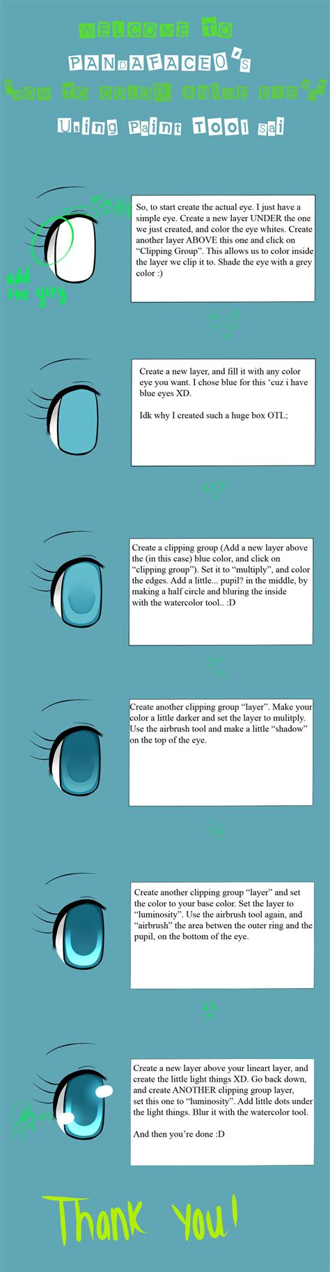 paint tool sai tutorial anime anime eye tut paint tool sai by pandaface0 on deviantart