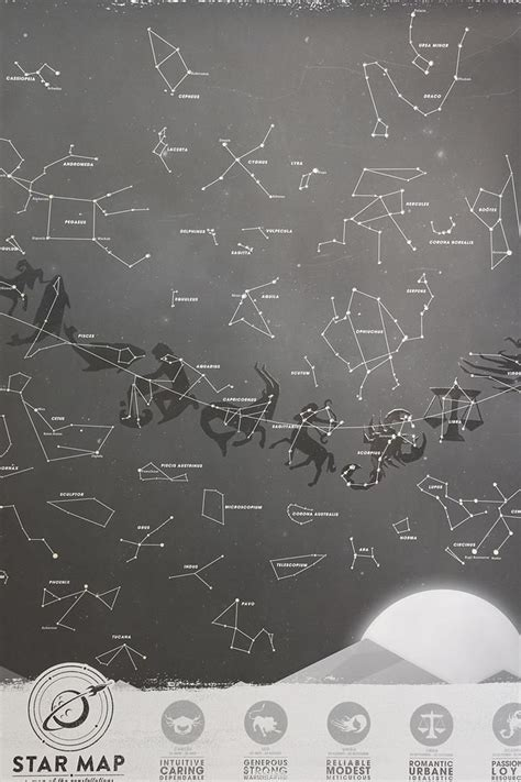 Glow In The Constellations For Ceiling by Glow In The Constellation Map Urbanoutfitters Let S Get Mystical