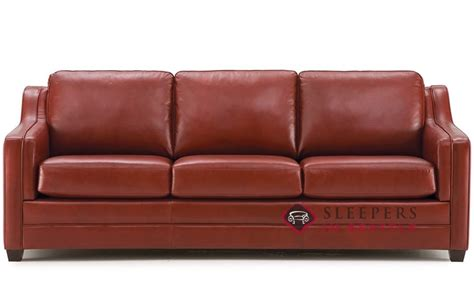 palliser sleeper sofa customize and personalize corissa leather sofa by