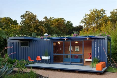 Storage Container Homes Shipping Container Homes Poteet Architects Container Guest House