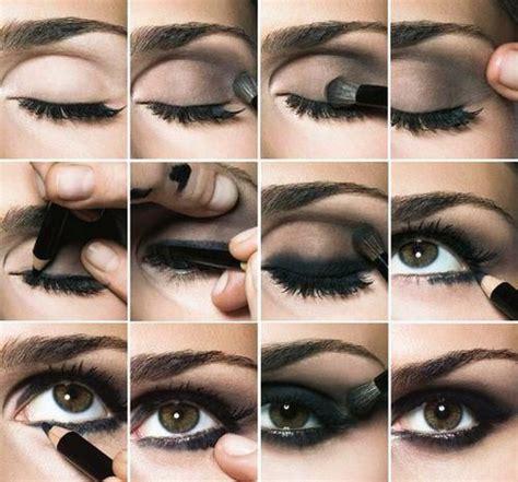 eyeshadow tutorial bobbi brown bobbi brown steps to smokey eyes diy beauty pinterest