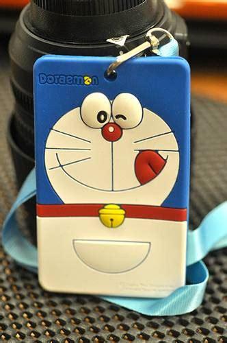 membuat id card doraemon gift station tempat id card name tag doraemon