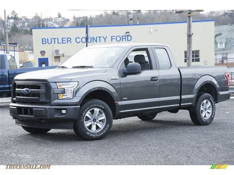 Ford F150 Xl by 2017 Ford F150 Xl Supercab 4x4 In Magnetic A23150