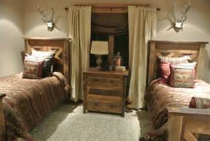 Hunting Bedroom Ideas Luxe Hunting Lodge Rustic Bedroom Other Metro By