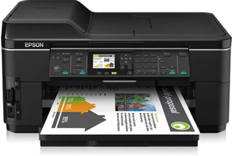 Printer Epson Wf 7511 epson workforce wf 7511 price in pakistan specifications