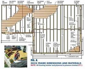 Deck Plans Com Wooden Deck Plans Pdf Woodworking