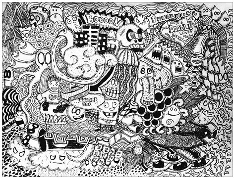 doodle drawings printable doodling doodle coloring pages for adults