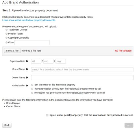 brand authorization letter format india step by step guide to create a brand authorization wish