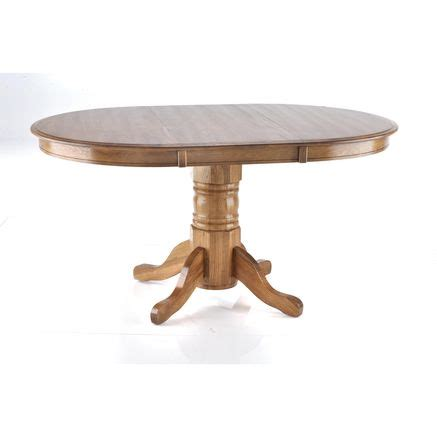 Table With Leaf Extension Nostalgia Ii Table With Leaf Extension