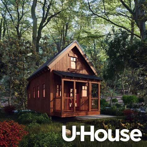 four lights tiny houses jay shafer s 312 sq ft tiny u house cabin