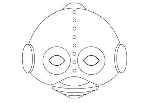 printable robot mask how to craft robot mask hellokids com