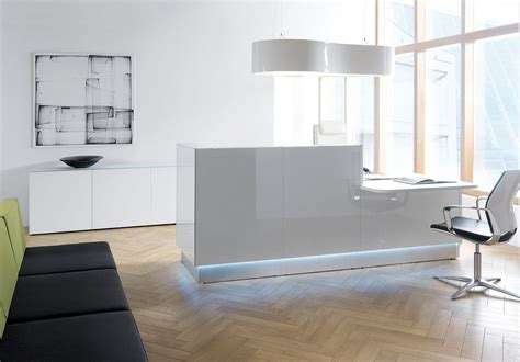 Cool Modern Desks Interior Desk And Cool Office Furniture Offices Design Lovely White Reception Desk Design With