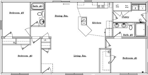 simple open house plans simple house floor plans one story home design and style
