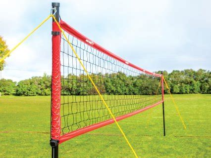 backyard volleyball net system spikepro outdoor volleyball net system gopher sport