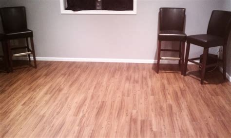 vinyl flooring in basement ullom construction snow
