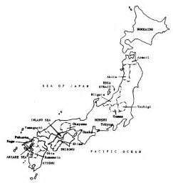 Japan Map Blank Outline by Blank Map Japan Printable