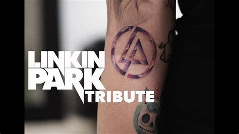 linkin park tattoo logo tribute youtube