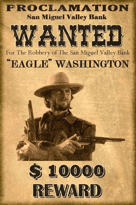 Western Wanted Postersclassic Western Wanted Poster By Mt On Deviantart Iswzfo Cowboy Party West Wanted Poster Template Free