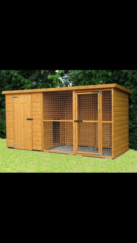 outdoor kennel best 25 outdoor kennels ideas only on