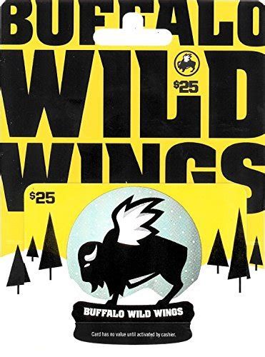 Buffalo Wild Wings Gift Card - 40 best gift cards for christmas 2017 unusual gifts