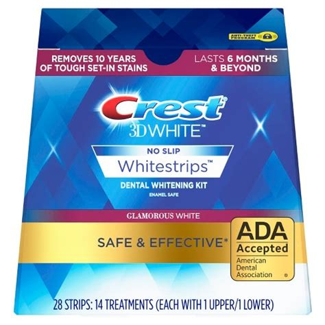 crest  white luxe whitestrips glamorous white teeth