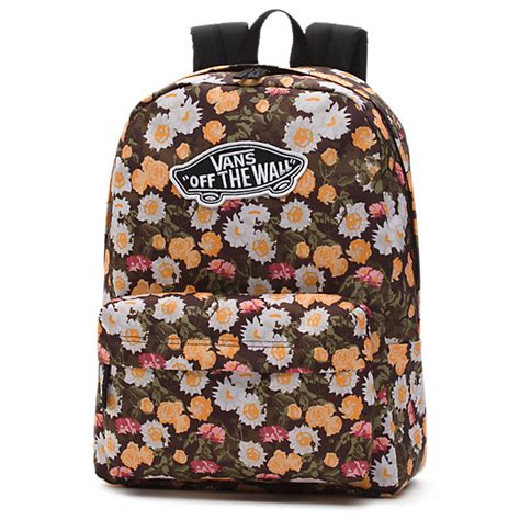 vans pattern shop realm backpack shop at vans