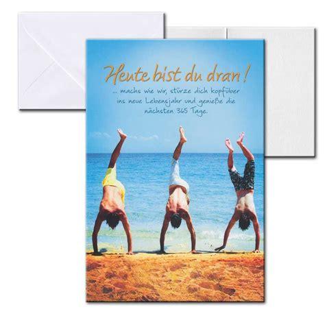 Cartolini Aufklappkarte Karte Spr 252 Che Zitate Briefumschlag Geburtstag M 228 Nner 17