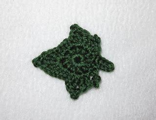 crochet pattern ivy leaf ravelry ivy leaf motif pattern by julie chen
