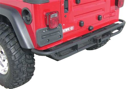 Jeep Yj Rear Bumper Olympic 4x4 Products A T Slider Jeep Rear Bumper For Jeep
