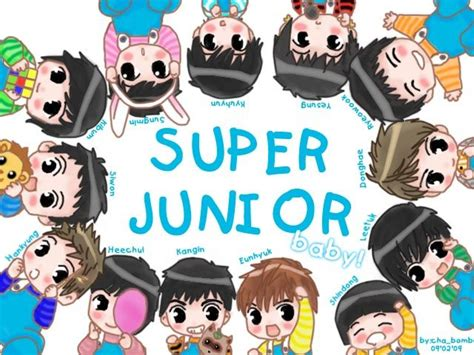 Mug Kpop Junior Chibi junior drawings 한국 suju 오빠 junior drawings and fanart