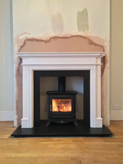 project 82 wood burning stove installation tooting