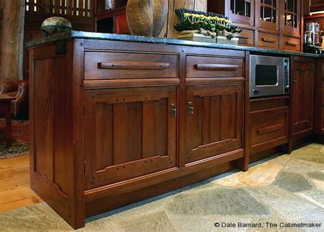 Unique Kitchen Furniture by Custom Arts And Crafts Kitchen Cabinets