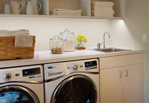 Side By Side Front Loading Washer And Dryer Design Ideas