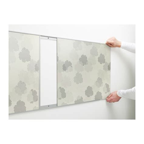 new for 2010 ikea kitchens fastbo wall panels 187 ikea fastbo wall panel double sided white leaves white light