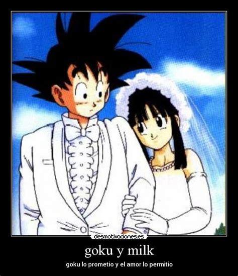 imagenes de goku y milk goku y milk desmotivaciones