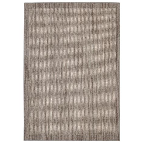 shop area rugs shop mohawk home topaz taupe rectangular indoor tufted