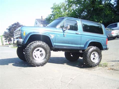 airbag deployment 1986 ford bronco ii transmission control classic lifted 1986 ford bronco 2 eddie bauer restored on 35 mickey thompsons for sale detailed