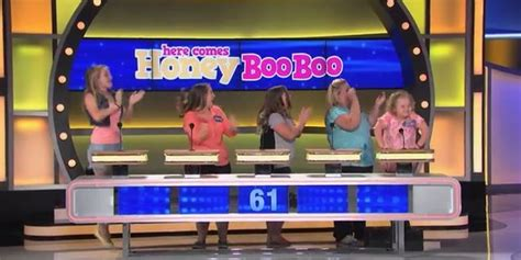 Honey Boo Boo And Cake Boss Square Off On Family Feud What Is A Family Feud