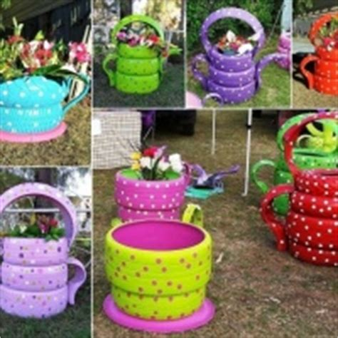 garden crafts to make 10 colorful garden crafts to make from tires