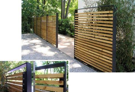 Terrasse Zaun Modern by Erstaunlich Holz Sichtschutz Garten Sichtschutz Garten