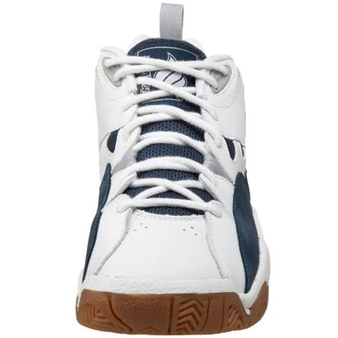Ardiles Federer White Navy Badminton Shoes ektelon s nfs classic mid racquetball shoes white navy 7 d m us apparel accessories