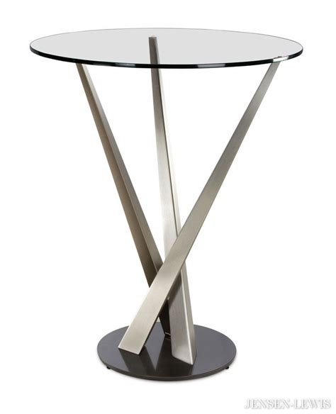 Modern Bistro Table 44 Modern Pub Table Sets 3 Pc Modern Bar Set In Black And Chrome Bar Table And Two